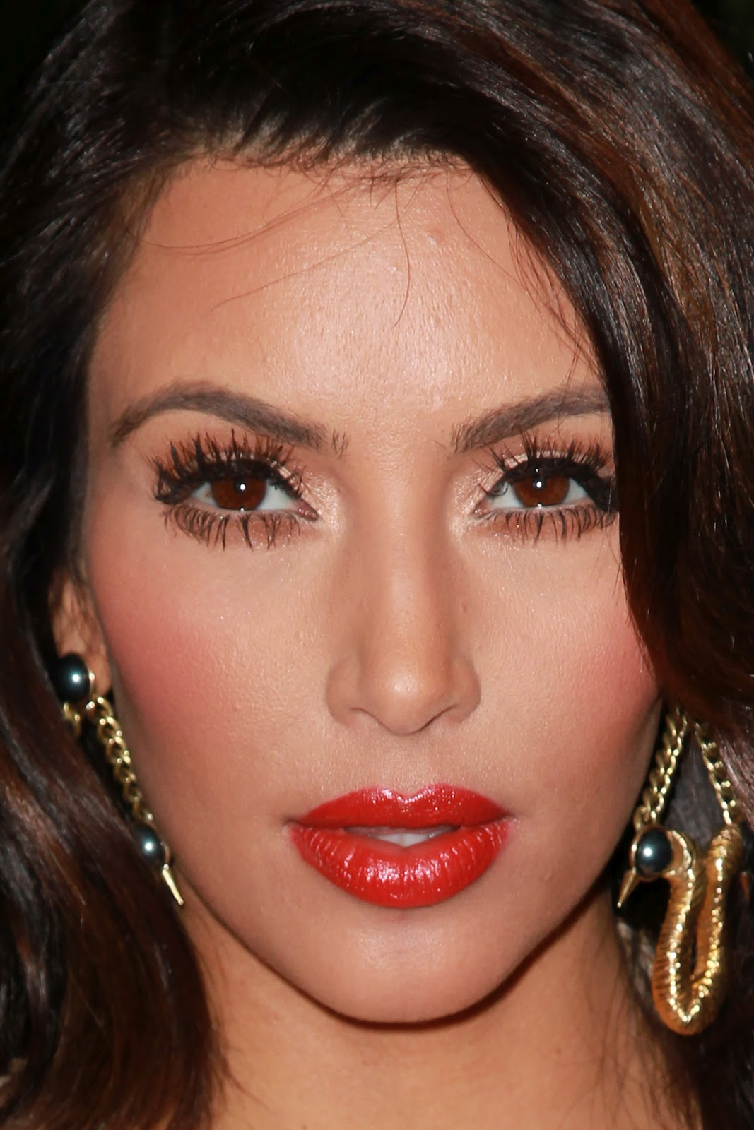 Kardashian Celebrity Makeup Tutorial, Kim Kardashian Makeup